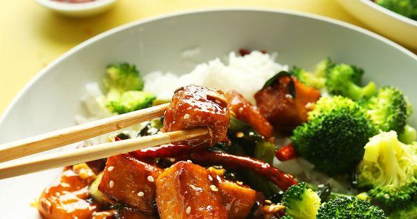 General Tso's Tofu Stir Fry | Recipe | General Tso, Tofu and Tofu Stir ...