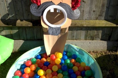 Great for a Harvest Party or Fall Festival with a Pirate theme.