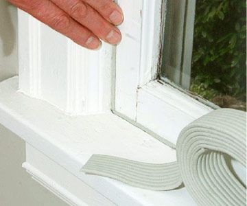 How To Weatherstrip Windows Weather Stripping Windows Weather