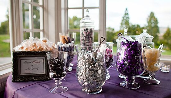 Golf Course Wedding With Purple Wedding Ideas Sweet