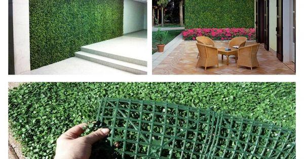 Follajes artificiales 590 pesos el m2 viva verde for Plantas decorativas artificiales df