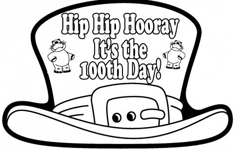 100 Days Of School Coloring Pages School Coloring Pages, 100 Days Of  School, 100 Day Of School Project