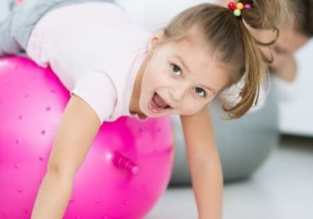 how to develop core strength in young children