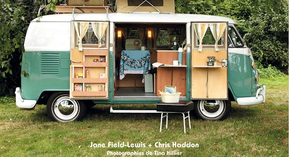 camping cars r tro les plus beaux camping cars vintage accessoire d co tendance inspiration. Black Bedroom Furniture Sets. Home Design Ideas