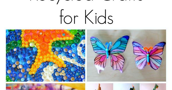 Amazing recycled crafts for kids recycled materials its for Amazing recycling projects