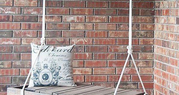 Altalena di legno fai da te come utilizzare i pallet per - Come utilizzare i pallet per arredare casa ...