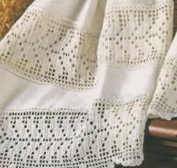 Conosciuto Schemi per il filet: Tramezzi e bordi per asciugamani - Paperblog KH15