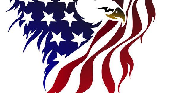 american flag eagle tattoo