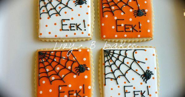 halloween cookies by lizybbakes, via Flickr