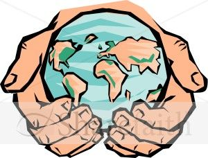 He's Got the Whole World in His Hands | Peace Clipart | Jesus drawings, Earth drawings, Hands holding the world