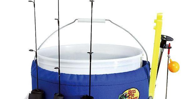 Bass pro shops bucket caddy bass for Fishing caddy bucket