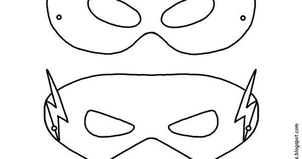 Spiderman Kleurplaten Superhelden Kleurplaten Animaatjes Nl: Superhelden Masker Sjablonen - Creative