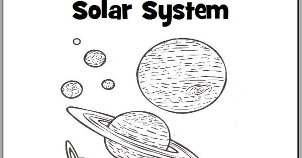 the planets in our solar system coloring book