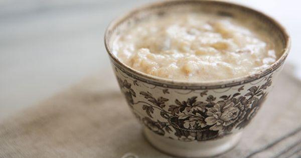 Rice Pudding ~ Classic, creamy rice pudding recipe. Boiled ...