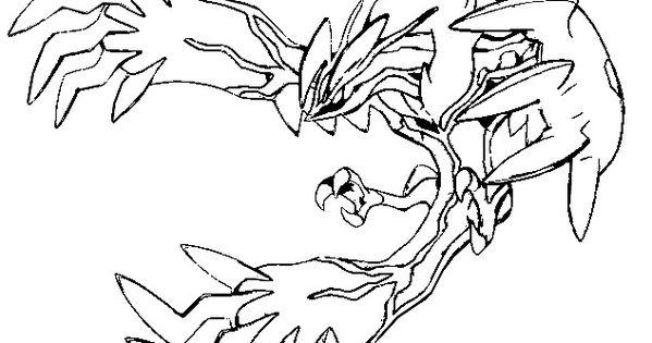 Pokemon yveltal coloring pages yveltal yveltal pinterest for Pokemon yveltal coloring pages