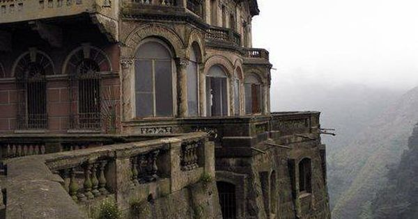 The abandoned Hotel del Salto. Colombia.