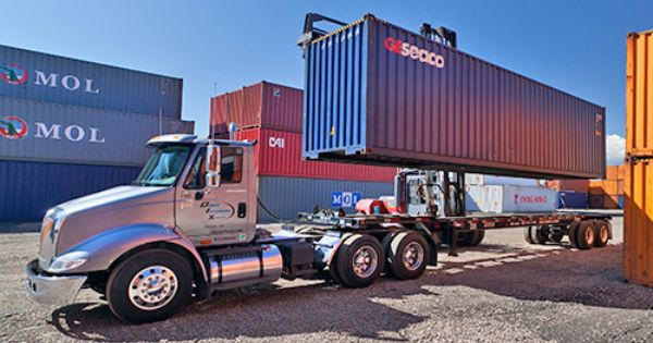 Container Depot Container Yard Container Freight Station Denver Denver Intermodal Express Trucks Service Transportation Services