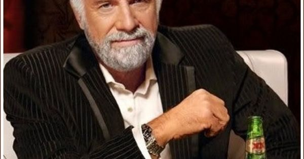 The Most Interesting Man is so cool