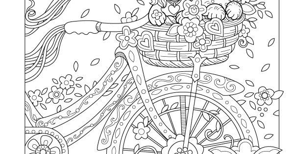 Coloriage Malbilder Mit Tiere️️ ️ Pinterest Bike