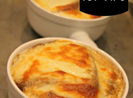 Couple: Spending Strike: Day 27 - French Onion Soup for TWO | Soup ...