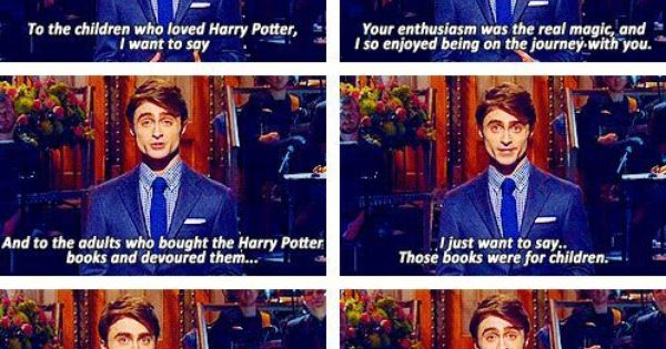 Harry Potter Book Monologues : Oh dan