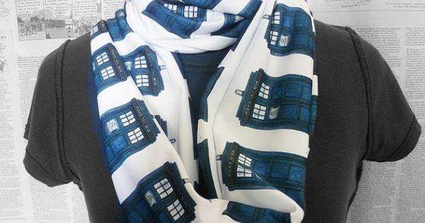 Dr who Scarf Tardis Scarf Whovian Clothing Womens by RoobyLane, £25.00 I