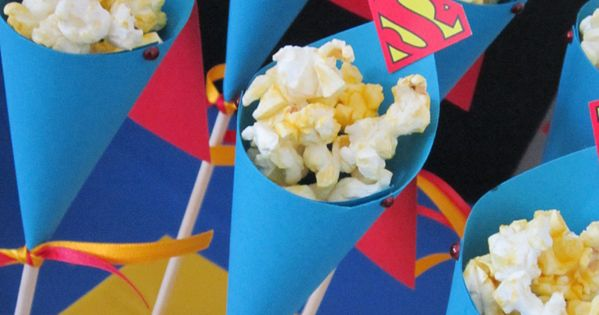 popcorn kaped kones Super Dad Guest Dessert Feature