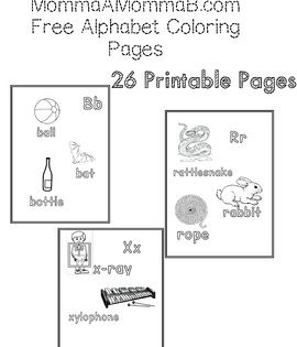 Free Alphabet Coloring Sheet Printables 26 Printable Pages Featuring Large Easy To Color Images From Alphabet Coloring Pages Alphabet Coloring Coloring Sheets