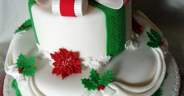 Christmas cakes christmas and cakes on pinterest