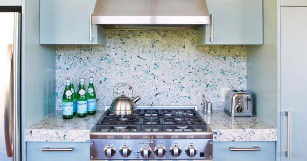 Blue Terrazzo Tile