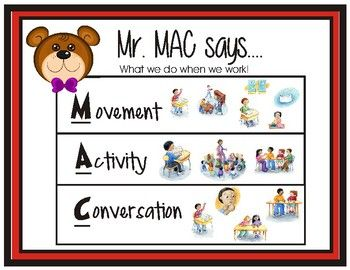 Mr Mac Posters Champs Pbis Champs Classroom Management