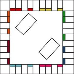 Free Printable Board Game Templates Could Be Used For Math Games And Other Subjects In Order To Buy A Spot T Board Game Template Board Games Classroom Games