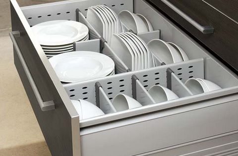 This Entry Is Part Of 4 In The Series How To Organize A Kitchen31 Practical Kitchen Rail Storage