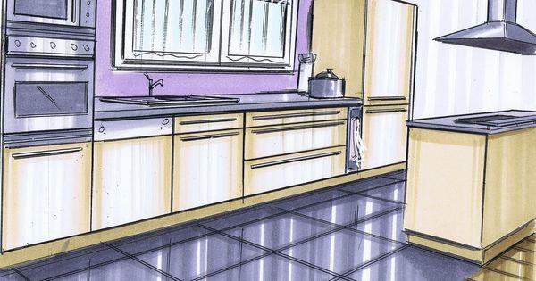 cuisine rable l implantation type de cette cuisine est le double lin aire c 39 est dire que. Black Bedroom Furniture Sets. Home Design Ideas