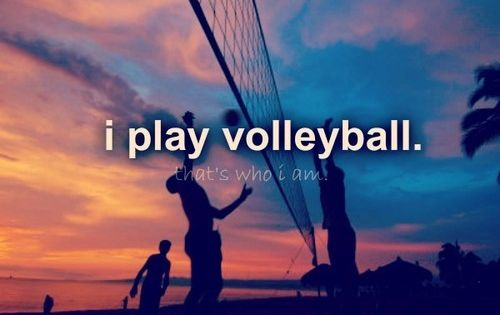I Play Volleyball And I Love It 3 D Volleyball Volleyball Tumblr Play Volleyball