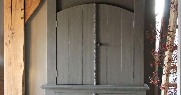 Pin van anja otto sterrenburg op mijn stijl pinterest kast kasten en oud hout - Keukenmeubelen rustiek ...