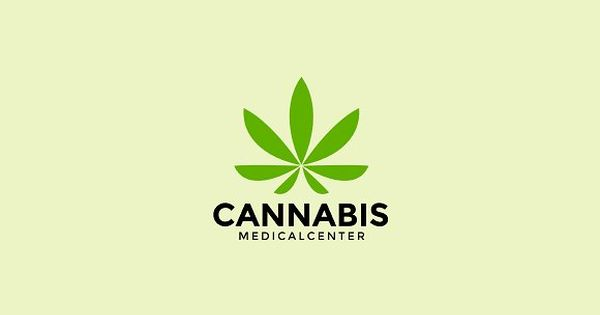 Cannabis Logo Template – Medical marijuana logo template