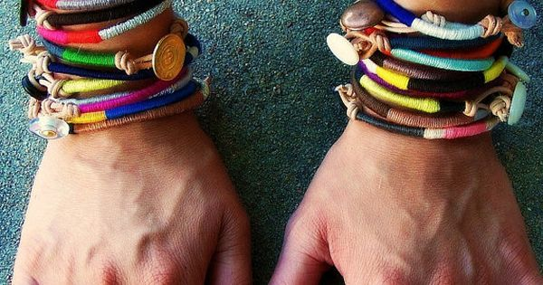 misanthropy creations: 11 DIY Bracelets DIY handmade crafts