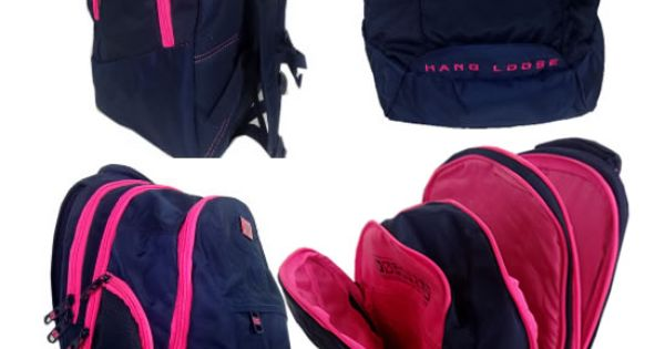 Bolsa Mochila Feminina Rosa : Mochila bolsa material escolar feminina rosa pink