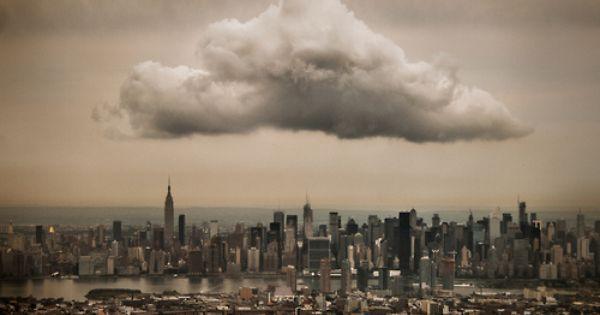 Midtown Cloud by Jeff Weston, via Flickr NewYork