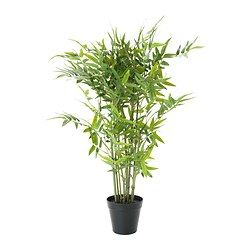 Fejka Plante Artificielle En Pot Bambou Jardin Fleurs