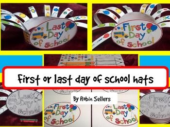 Last Day Of School Or First Day Of School Hat Craft End Of Year