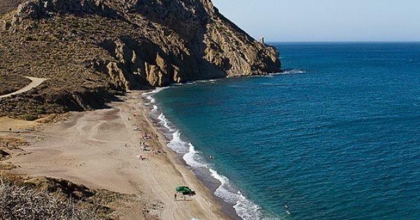 Playa Del Pirulico Cabo De Gata Almeria Comund Andalucia Pinterest Spain Almeria And