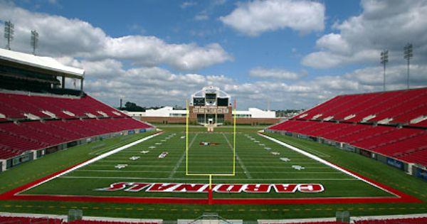 Papa John S Cardinal Stadium Louisville Ky Louisville Louisville Cardinals Football Stadiums