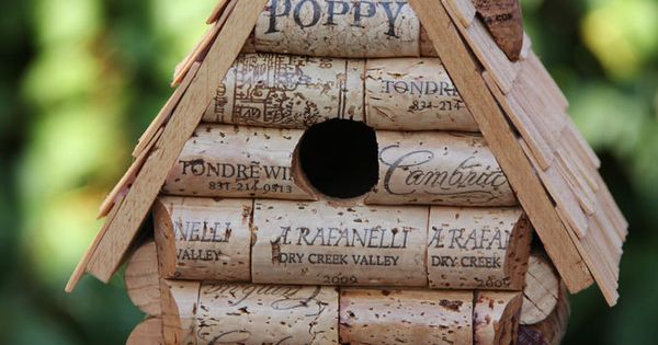 How To Make A Wine Cork Fairy Birdhouse Crafts