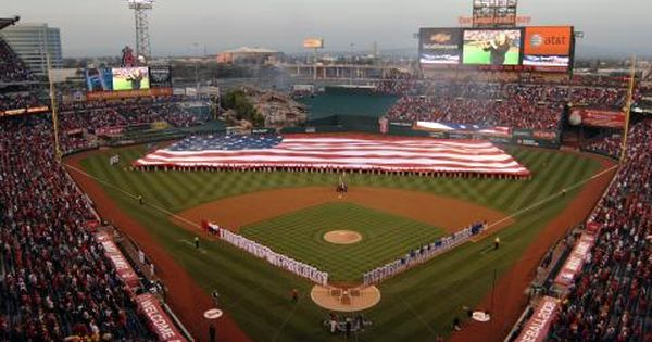 Tips For Taking Kiddos To An Angels Game Angel Stadium Angels Baseball Stadium Wallpaper