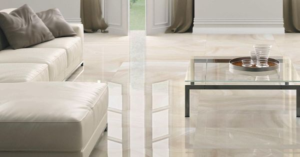 Floor Tile Porcelain Stoneware High Gloss Stone Look