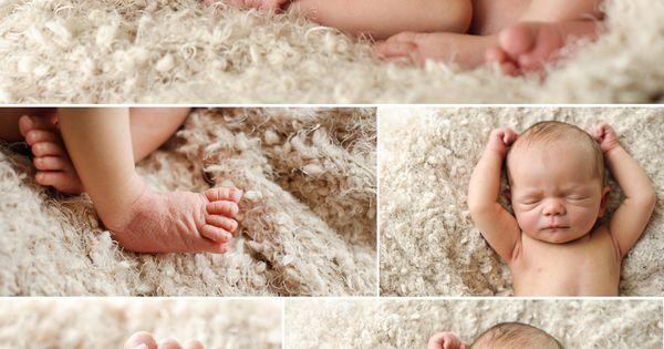 Natural baby poses