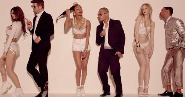 the concept of degrading women in blurred lines a song by robin thicke The song is saying that blurred lines of scripture or morality, that try to domesticate us can get in the way of people being honest about their true and natural feelings for each other, leading to frustration and confusion.