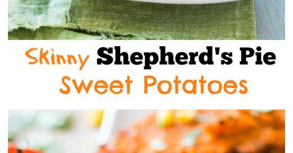 Lightened Up Shepherd's Pie | Recipe | Baked sweet ...
